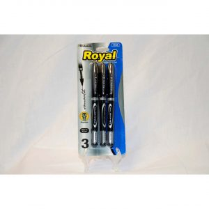 3pk Royal Ball Pen