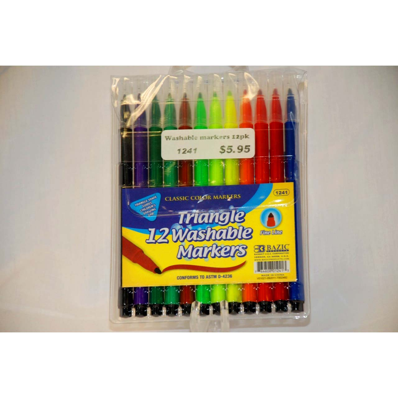 12pk Triangle Markers