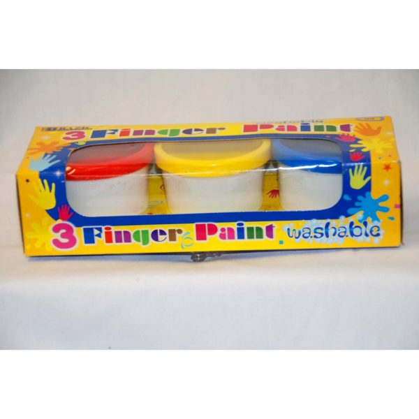 3pk Finger Paints