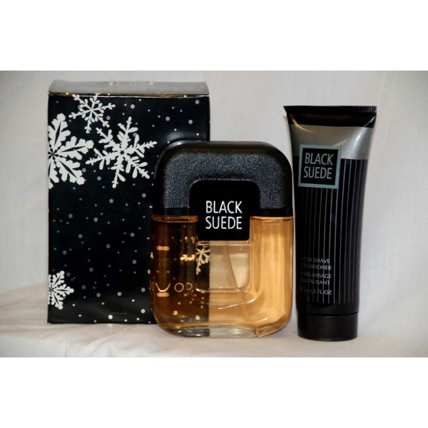 Avon Black Suede Set