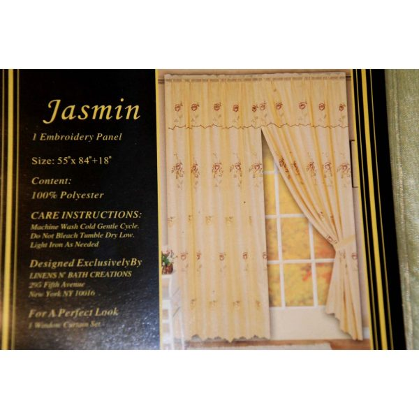 Jasmin Panel Curtain