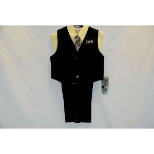 Boys 4pc Suit