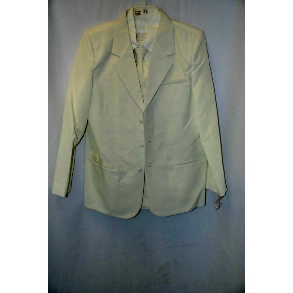 Shannon Boys White Suit