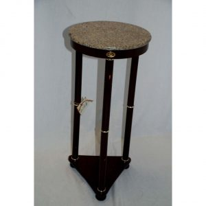 Round Marble Top Side Table