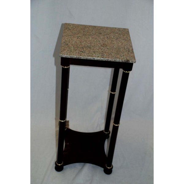 Square Marble Top Side Table