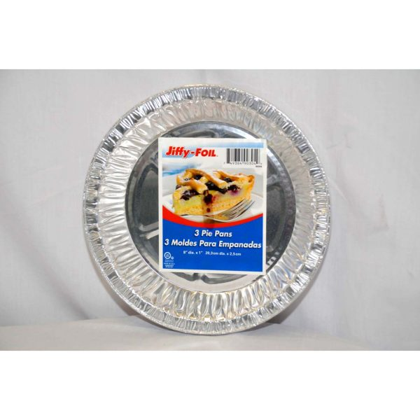 Jiffy Foil 3pk Pie Pan