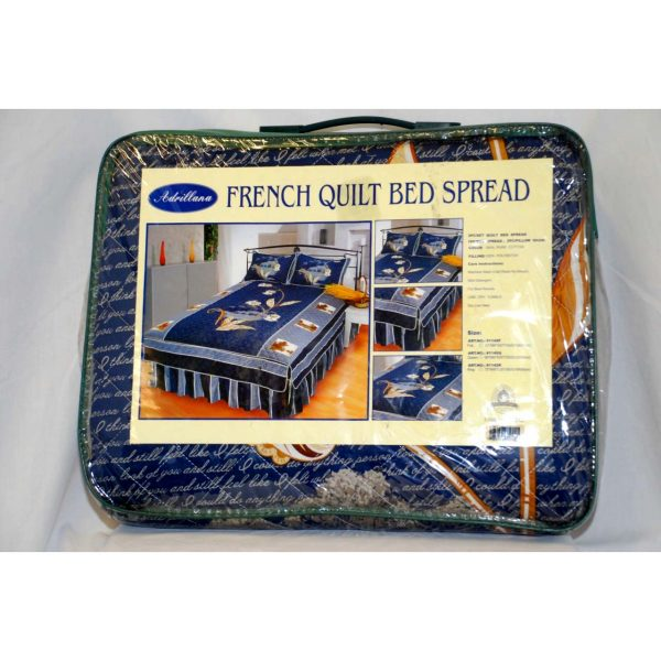 French Quilt Bed Spread (Full Size)