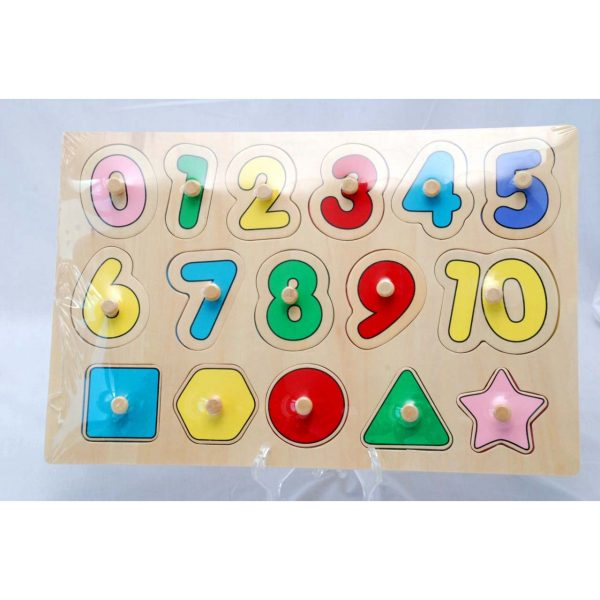 Educational Numbers & Shapes Puzzle