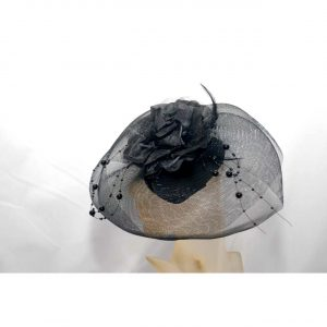 Ladies Clip on Hat w/Veil