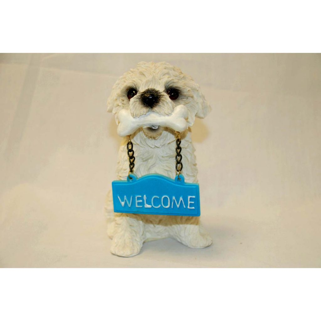 Welcome Dog Ornament