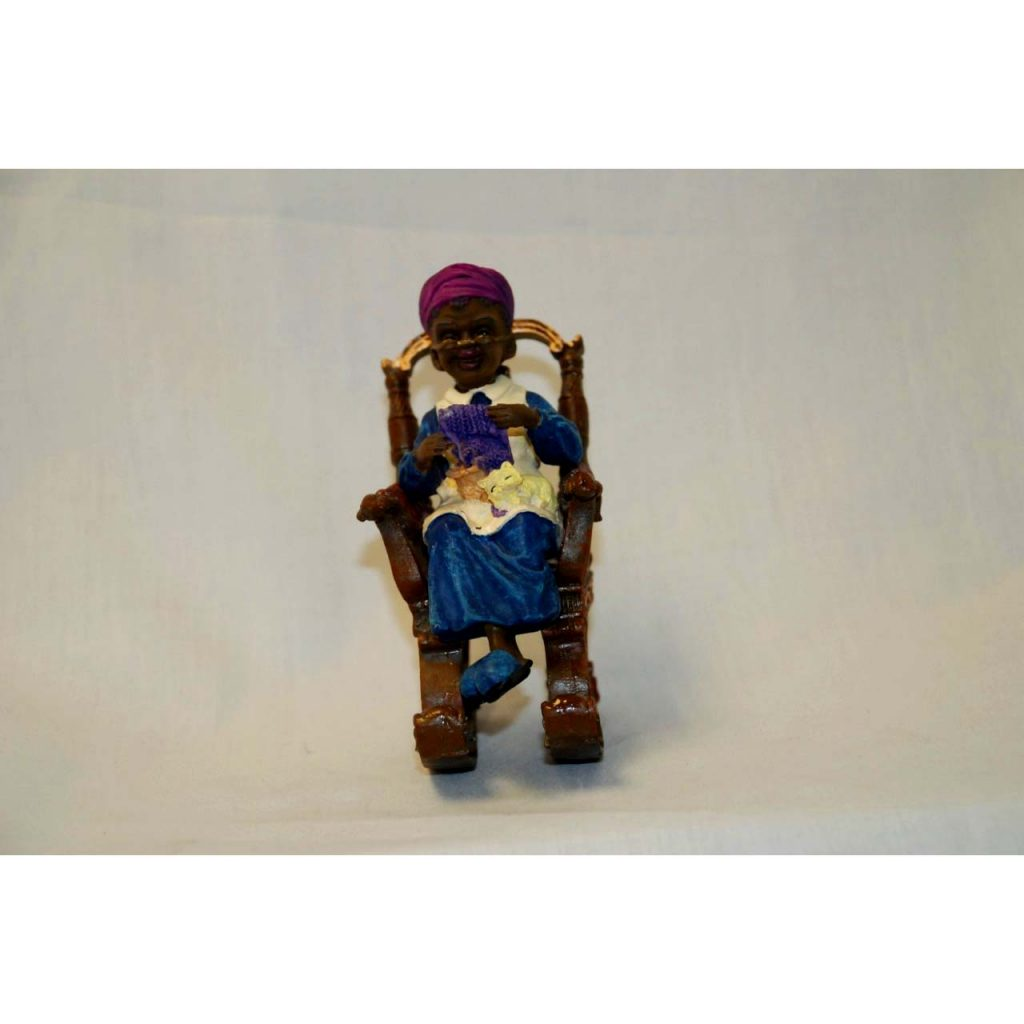Person in Chair Ornament