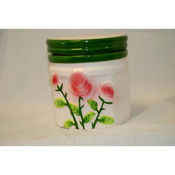 Canister w/ lid