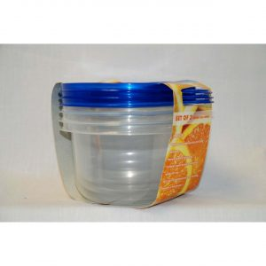 3pc Round Food Container