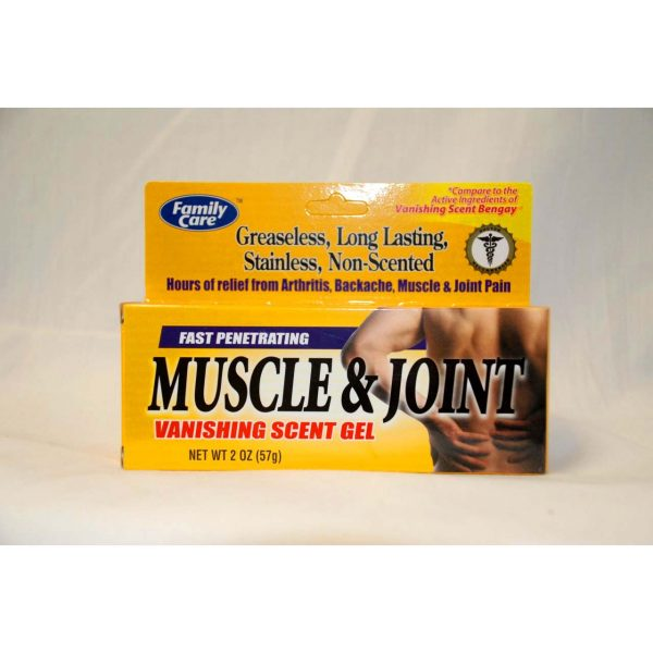 Muscle & Joint Pain Reliever